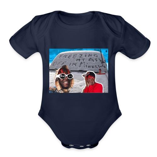 Lil Yachty - Minnesota - Organic Short Sleeve Baby Bodysuit