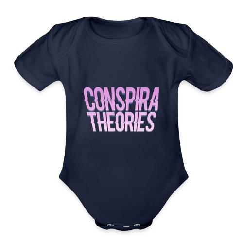 Women's - ConspiraTheories Official T-Shirt - Organic Short Sleeve Baby Bodysuit