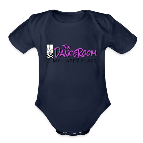 TDR HAPPY PLACE - Organic Short Sleeve Baby Bodysuit