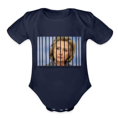 eLECTION_RESULTS - Organic Short Sleeve Baby Bodysuit
