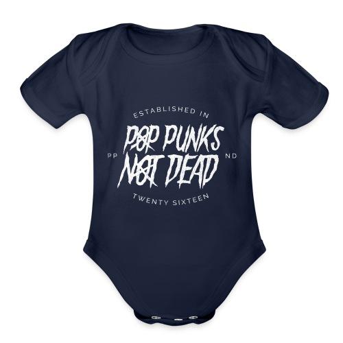 PPND College Jacket - Organic Short Sleeve Baby Bodysuit