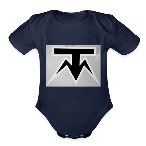 TMoney - Organic Short Sleeve Baby Bodysuit