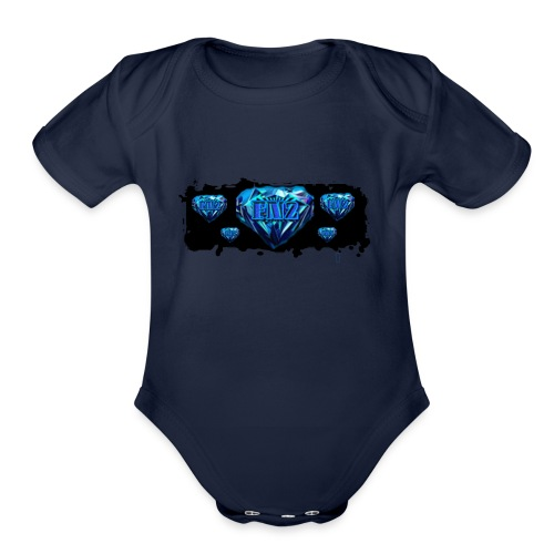 pop - Organic Short Sleeve Baby Bodysuit