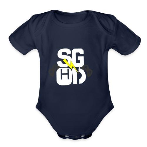 IMG_0350 - Organic Short Sleeve Baby Bodysuit