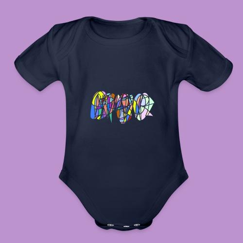 Scribble - Organic Short Sleeve Baby Bodysuit