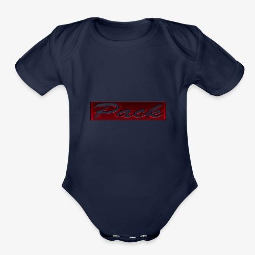 packss - Organic Short Sleeve Baby Bodysuit