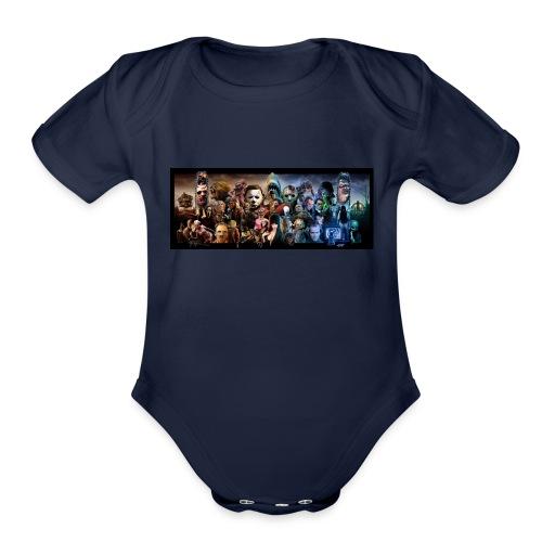 horror*9 - Organic Short Sleeve Baby Bodysuit