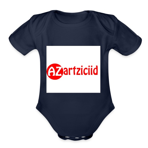 art ziciid - Organic Short Sleeve Baby Bodysuit