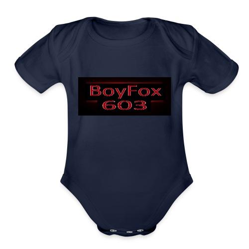 BoyFox 603 Stranger Things - Organic Short Sleeve Baby Bodysuit