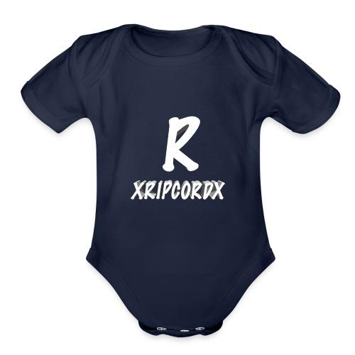 XRIPCORDX Fitness Shirt - Organic Short Sleeve Baby Bodysuit