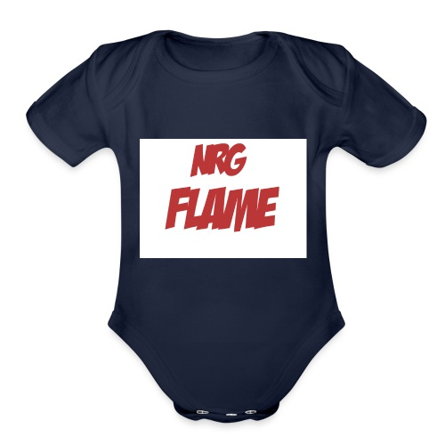 FLAME - Organic Short Sleeve Baby Bodysuit