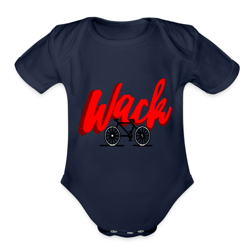WT Bike Life - Organic Short Sleeve Baby Bodysuit