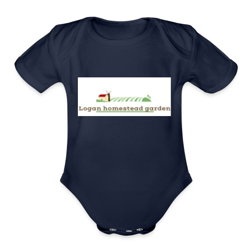 Homesteadlogo - Organic Short Sleeve Baby Bodysuit