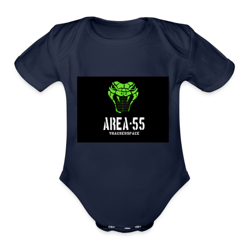 final_Area55_vertical1 - Organic Short Sleeve Baby Bodysuit