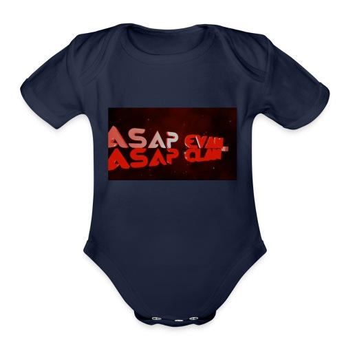 ASAP Evan - Organic Short Sleeve Baby Bodysuit