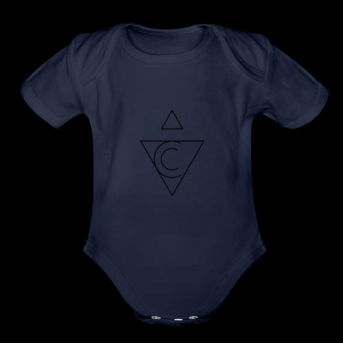 The Tetragenetron - Organic Short Sleeve Baby Bodysuit