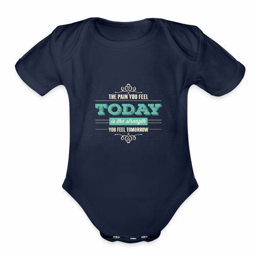 tag3 - Organic Short Sleeve Baby Bodysuit