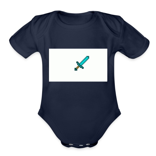 be a pro - Organic Short Sleeve Baby Bodysuit