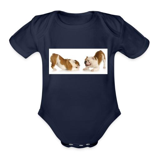 TwoDogs - Organic Short Sleeve Baby Bodysuit