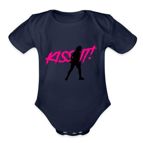 KISS IT! - Organic Short Sleeve Baby Bodysuit