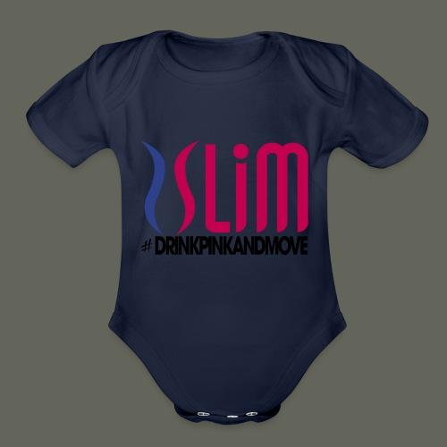 Plexus_Slim_shirt - Organic Short Sleeve Baby Bodysuit