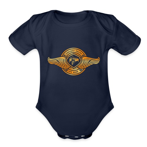 Squad Off Road - Organic Short Sleeve Baby Bodysuit