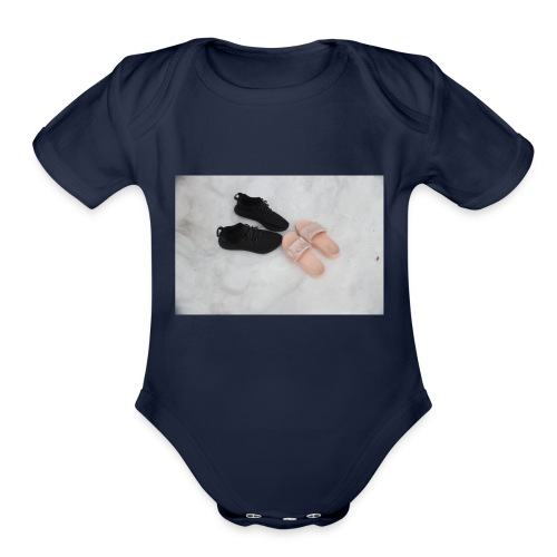 OVRCOME - Organic Short Sleeve Baby Bodysuit