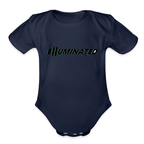 Eiiuminated Clothing V1 - Organic Short Sleeve Baby Bodysuit