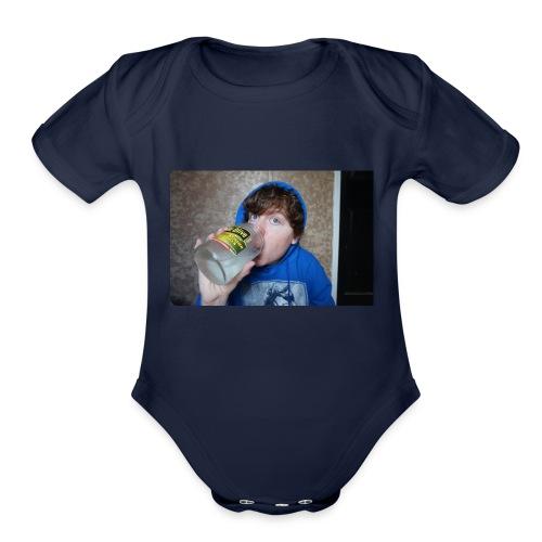 marilyn masonjar - Organic Short Sleeve Baby Bodysuit