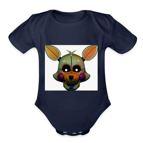 lolbit - Organic Short Sleeve Baby Bodysuit
