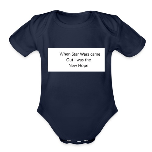 Star Wars - Organic Short Sleeve Baby Bodysuit