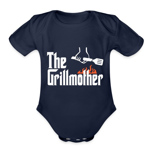 The Grillmother - Organic Short Sleeve Baby Bodysuit