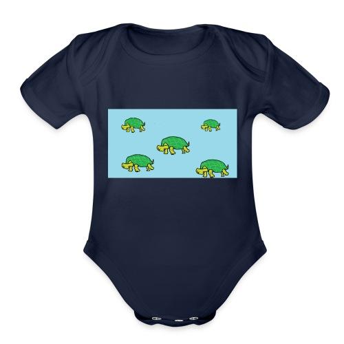 hib2 png - Organic Short Sleeve Baby Bodysuit