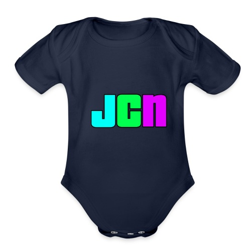 JCN Shirt Mens - Organic Short Sleeve Baby Bodysuit