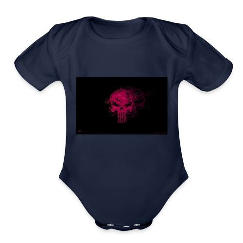 hkar.punisher - Organic Short Sleeve Baby Bodysuit