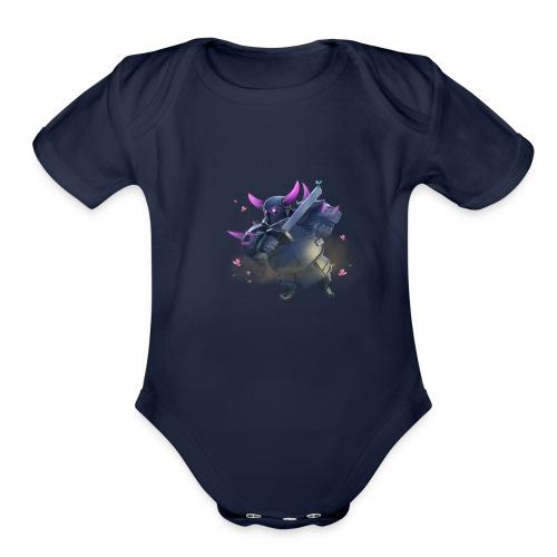 pekka collection - Organic Short Sleeve Baby Bodysuit