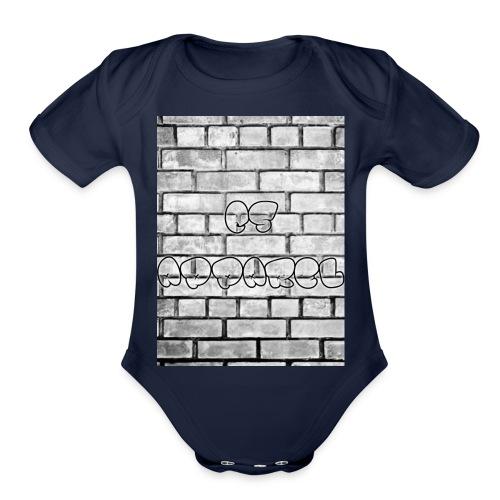 C/S Apparel - Organic Short Sleeve Baby Bodysuit