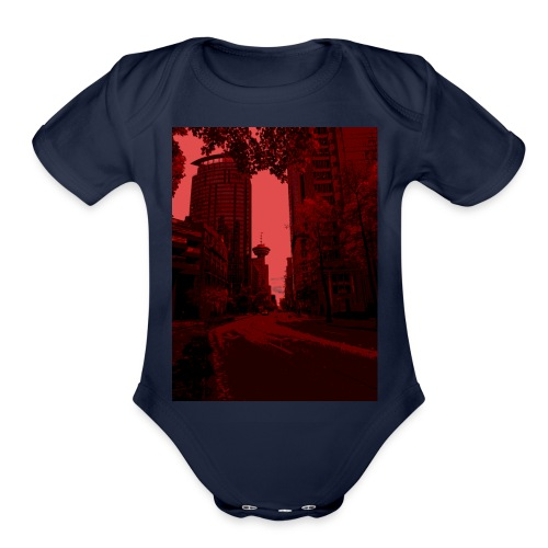 Bloody Vancouver - Organic Short Sleeve Baby Bodysuit