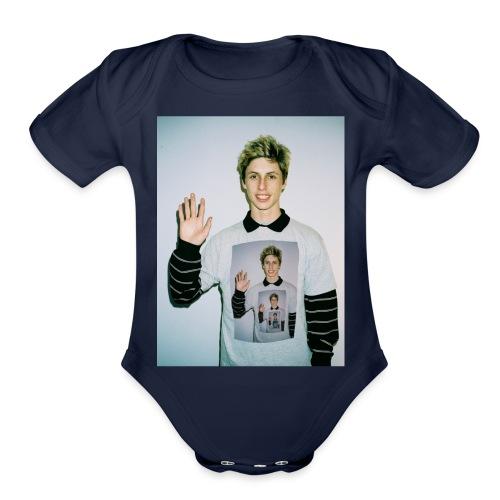 lucas vercetti - Organic Short Sleeve Baby Bodysuit
