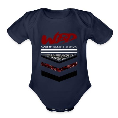 WontBackDown - Organic Short Sleeve Baby Bodysuit