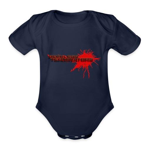 Reckless Terminators - Organic Short Sleeve Baby Bodysuit