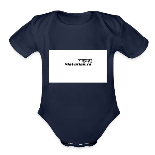 Niagarian Hoodie - Organic Short Sleeve Baby Bodysuit