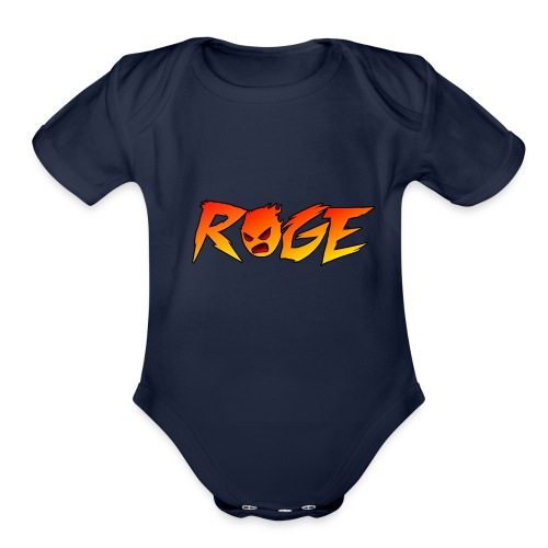Rage T-shirt - Organic Short Sleeve Baby Bodysuit
