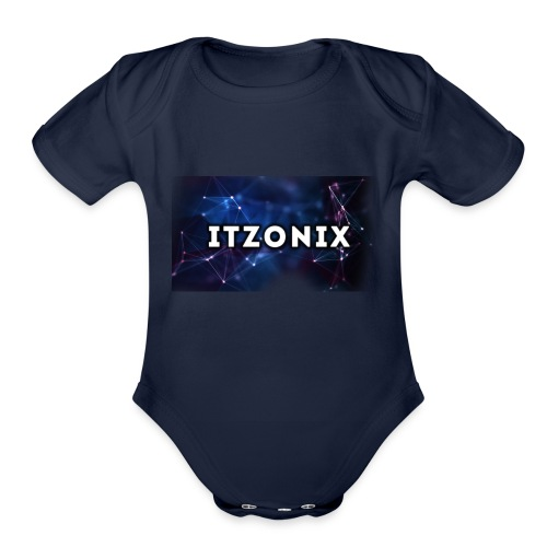 THE FIRST DESIGN - Organic Short Sleeve Baby Bodysuit