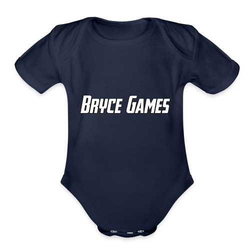 Bryce Games - Organic Short Sleeve Baby Bodysuit