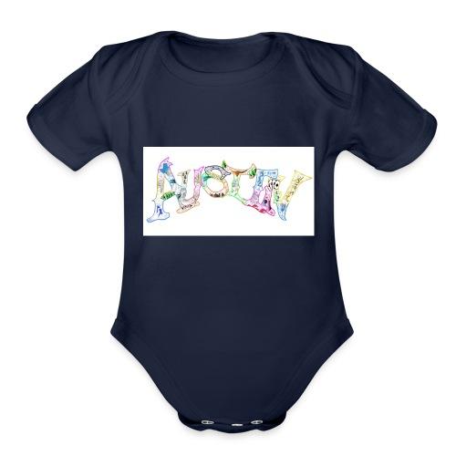 otheraustinagain - Organic Short Sleeve Baby Bodysuit