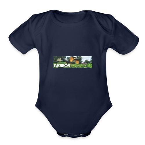 INERROR SPRING - Organic Short Sleeve Baby Bodysuit
