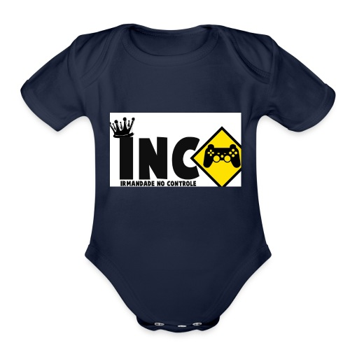 inc - Organic Short Sleeve Baby Bodysuit