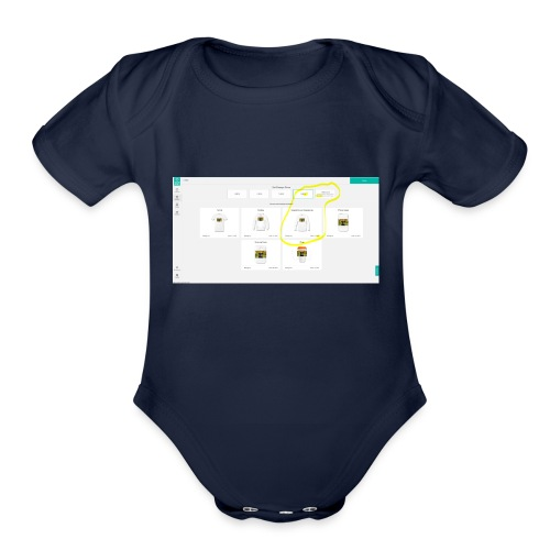 inconistency_in_currencies - Organic Short Sleeve Baby Bodysuit