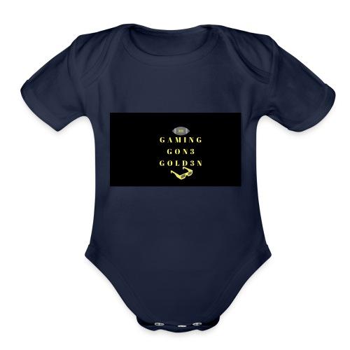 Merch v.1 - Organic Short Sleeve Baby Bodysuit